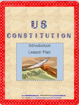 US Constitution Intro Lesson Plan (Handouts Included)