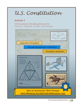 Constitution - Lesson 2 - Impeach-Provide-Promote