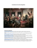US Constitution Negotiation