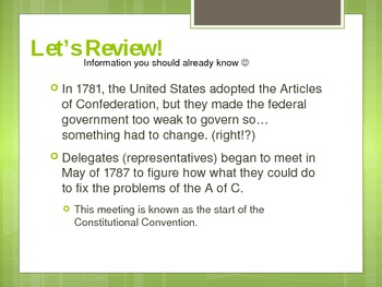 US Constitution Powerpoint