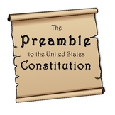 U.S. Constitution Preamble Worksheet DBQ: Students Write Preamble in Own Words