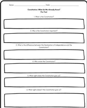 US Constitution Quiz