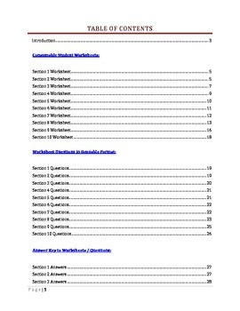 U.S. Constitution Step by Step -- Article I Worksheet