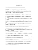 US Constitution Test and Answer Key