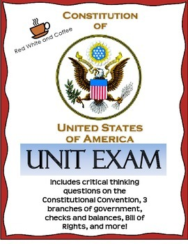 US Constitution Unit Exam