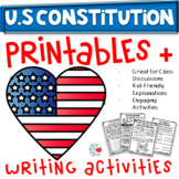 US Constitution 1st/2nd/3rd (TEKS & CCSS Aligned)