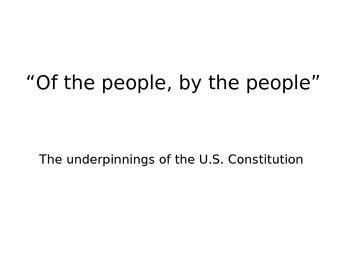 U.S. Constitution Unit Plan - Common Core