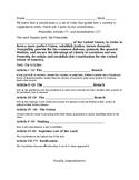 US Constitution notes