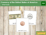 US Currency: 3-Part Cards