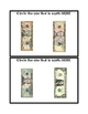 US Currency Bills Task Cards