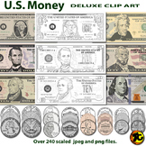 US Money Clip Art
