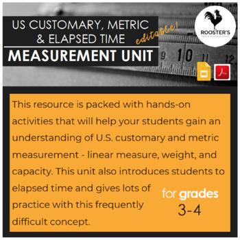 US Customary & Metric Measurement Unit {Digital & PDF}