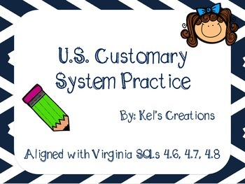 U.S. Customary System Conversion Practice