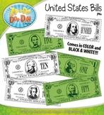 US Currency / Dollar Bills Clipart {Zip-A-Dee-Doo-Dah Designs}