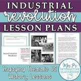 US Economy: Industrial Revolution Stations & Progressive Era Reforms