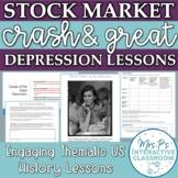 US Econ: Stock Market Crash Simulation & Great Depression