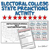 US Electoral College Prediction Activity 2016 Election
