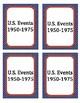 US Events 1950-75 Headbands Game