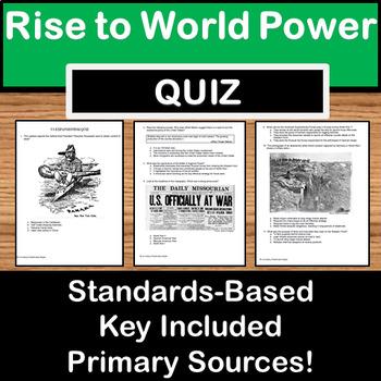 US Expansionism Quiz - US History Texas STAAR prep