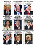 US Federal Government Leader Cards - 2018