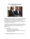"""U.S. Foreign Policy Proposal - """"Final Assignment"""""""