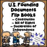 US Founding Documents Flip Books / Bill of Rights / Consti