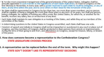 US Founding Documents Lesson Bundle