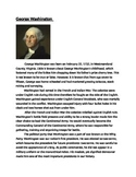U.S. Founding Fathers Activity (with Higher Order Thinking