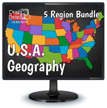 Smartboard US Geography Games