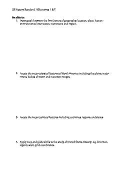 US Geography & 5 Themes KBAT