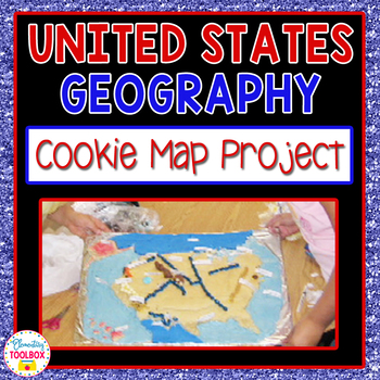 U.S. Geography Project-Cookie Map