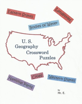 United States Geography Crossword Puzzles