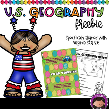US Geography Freebie (SOL 2.5)