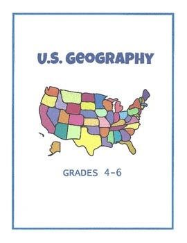 US Geography - Grades 4-6