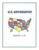 US Geography - Grades 4-6