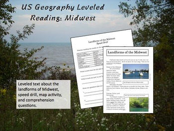 US Geography Leveled Readings Midwest