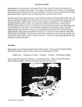 US Geography - Mid Atlantic States Region (Grades 4-6) - by Teaching Ink