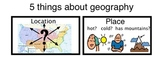 US Geography- Social Studies -- Differentiated for Special Education