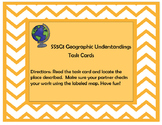 US Geography Task Cards and Map (SS5G1)