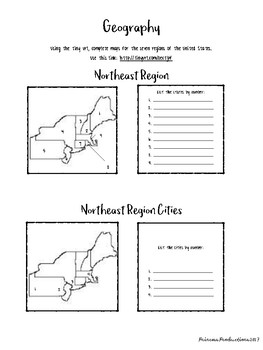 US Geography - The Seven Regions