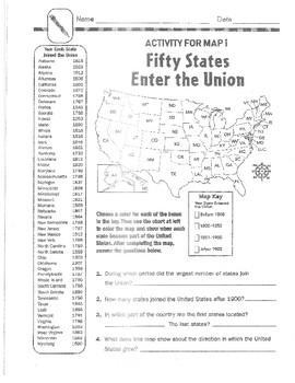 US Geography Unit Study Grades 3-6