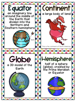 US Geography and Continent Bundle (SOL 2.5 2.6)