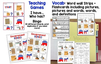 US Government / 3 Branches / Election / Voting Unit - Differentiated Resources