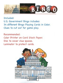 US Government Bingo