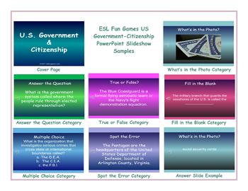 US Government-Citizenship PowerPoint Slideshow