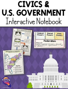 us government civics interactive notebook 5th grade united states. Black Bedroom Furniture Sets. Home Design Ideas