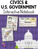 US Government Civics Interactive Notebook 5th Grade United States