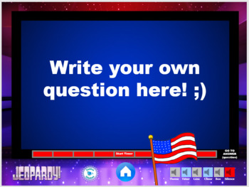 US Government - Civil Liberties / Bill of Rights Jeopardy Review Game