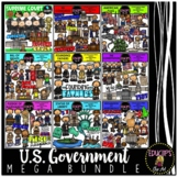US Government Clip Art Mega Bundle {Educlips Clipart}