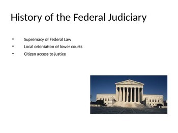 US Government Criminal Justice Law A Brief History of the